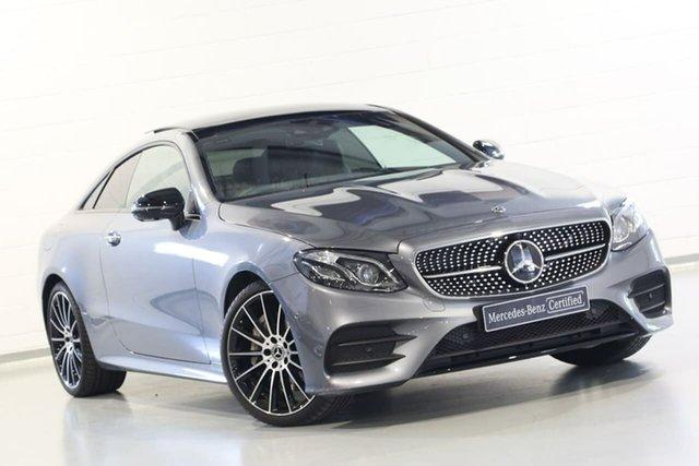 Used Mercedes-Benz E-Class E300 9G-Tronic PLUS, Narellan, 2019 Mercedes-Benz E-Class E300 9G-Tronic PLUS Coupe