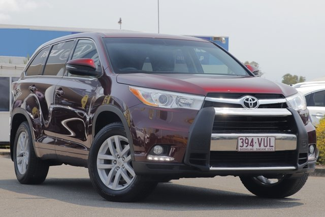 Used Toyota Kluger GX 2WD, Toowong, 2014 Toyota Kluger GX 2WD Wagon