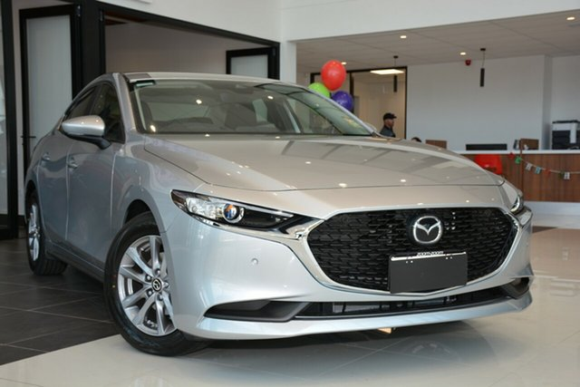 Demonstrator, Demo, Near New Mazda 3 G20 SKYACTIV-Drive Pure, Cheltenham, 2019 Mazda 3 G20 SKYACTIV-Drive Pure Sedan