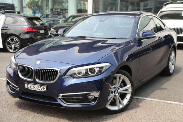 Used BMW 220i Luxury Line, Brookvale, 2019 BMW 220i Luxury Line Coupe