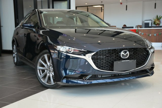 Demonstrator, Demo, Near New Mazda 3 G20 SKYACTIV-Drive Touring, Cheltenham, 2019 Mazda 3 G20 SKYACTIV-Drive Touring Sedan