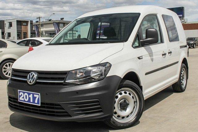 Used Volkswagen Caddy TSI220 SWB DSG, Coburg North, 2017 Volkswagen Caddy TSI220 SWB DSG Van