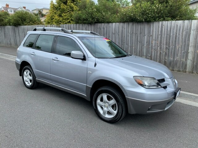 Used Mitsubishi Outlander XLS, North Hobart, 2003 Mitsubishi Outlander XLS Wagon