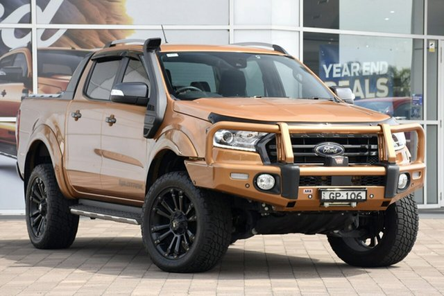 Discounted Used Ford Ranger Wildtrak Pick-up Double Cab, Warwick Farm, 2018 Ford Ranger Wildtrak Pick-up Double Cab Utility