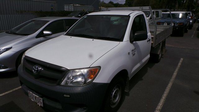 Used Toyota Hilux Workmate 4x2, Morayfield, 2007 Toyota Hilux Workmate 4x2 Cab Chassis