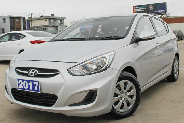 Used Hyundai Accent Active, Coburg North, 2017 Hyundai Accent Active Hatchback
