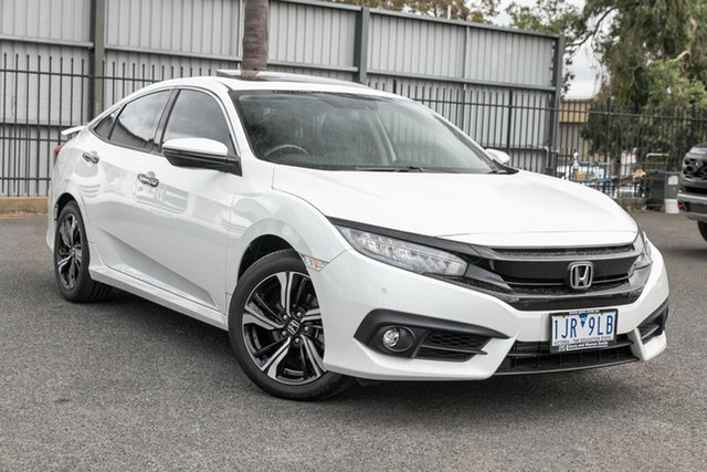 Used Honda Civic RS, Oakleigh, 2017 Honda Civic RS 10th Gen MY16 Sedan