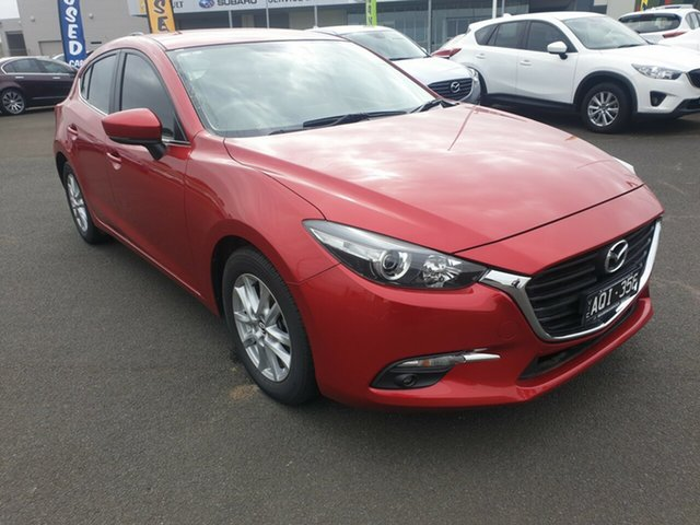 Used Mazda 3, Warrnambool East, 2017 Mazda 3 Hatchback