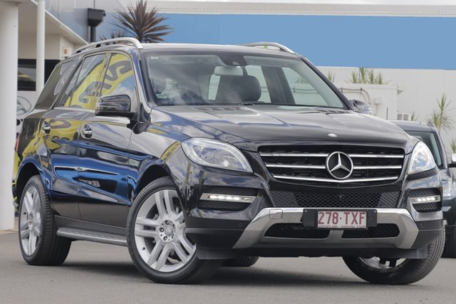 Used Mercedes-Benz M-Class ML250 BlueTEC 7G-Tronic +, Bowen Hills, 2014 Mercedes-Benz M-Class ML250 BlueTEC 7G-Tronic + Wagon