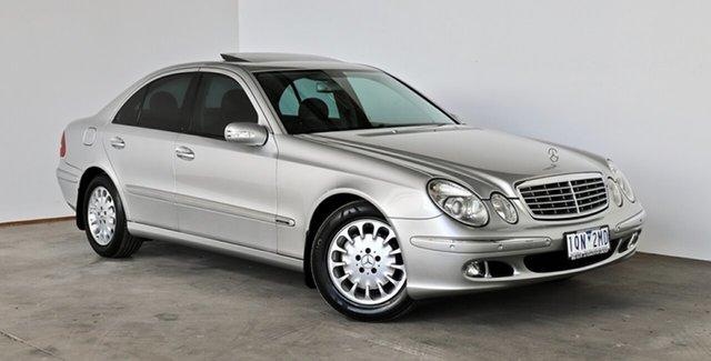 Used Mercedes-Benz E-Class E200 Kompressor Elegance, Thomastown, 2005 Mercedes-Benz E-Class E200 Kompressor Elegance Sedan