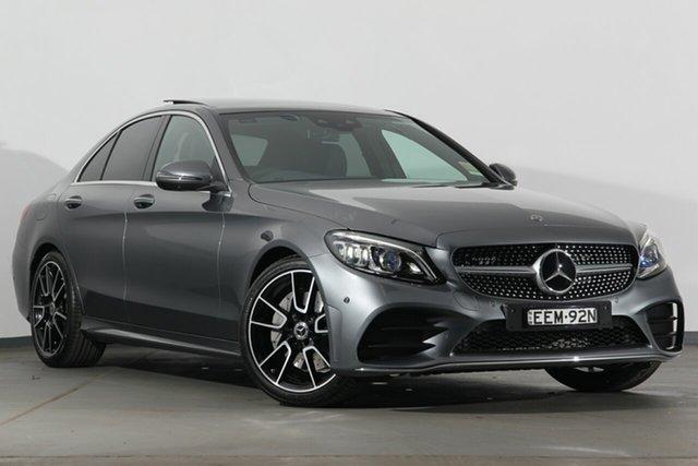 Demonstrator, Demo, Near New Mercedes-Benz C-Class C300 9G-Tronic, Warwick Farm, 2018 Mercedes-Benz C-Class C300 9G-Tronic Sedan