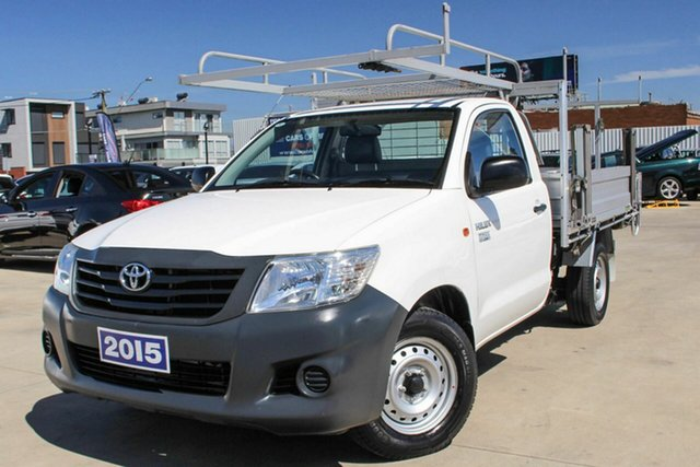 Used Toyota Hilux Workmate 4x2, Coburg North, 2015 Toyota Hilux Workmate 4x2 Cab Chassis