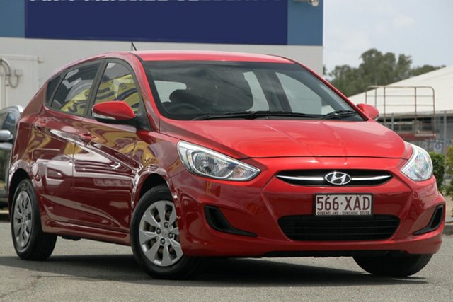 Used Hyundai Accent Active, Bowen Hills, 2014 Hyundai Accent Active Hatchback