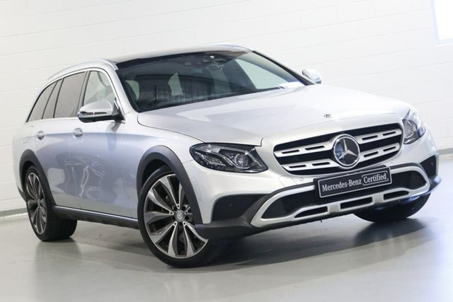 Used Mercedes-Benz E-Class E220 d All-Terrain 9G-Tronic PLUS 4MATIC, Warwick Farm, 2017 Mercedes-Benz E-Class E220 d All-Terrain 9G-Tronic PLUS 4MATIC Wagon