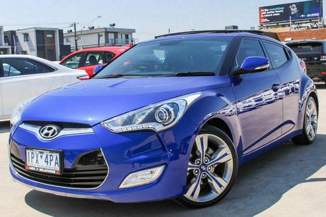 Used Hyundai Veloster Coupe D-CT, Coburg North, 2012 Hyundai Veloster Coupe D-CT Hatchback
