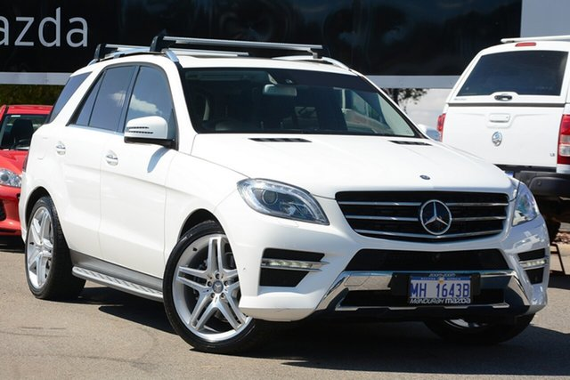 Used Mercedes-Benz ML350 CDI BlueTEC 4x4, Mandurah, 2014 Mercedes-Benz ML350 CDI BlueTEC 4x4 Wagon