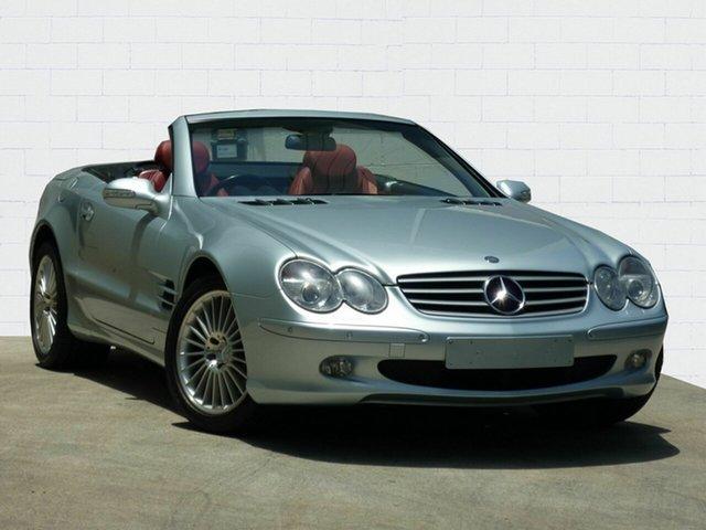 Used Mercedes-Benz SL500, Moorooka, 2003 Mercedes-Benz SL500 Convertible