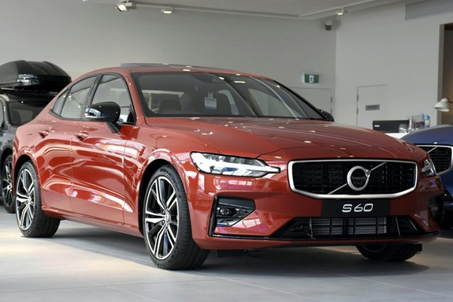 Discounted New Volvo S60 T5 Geartronic AWD R-Design, Warwick Farm, 2019 Volvo S60 T5 Geartronic AWD R-Design Sedan