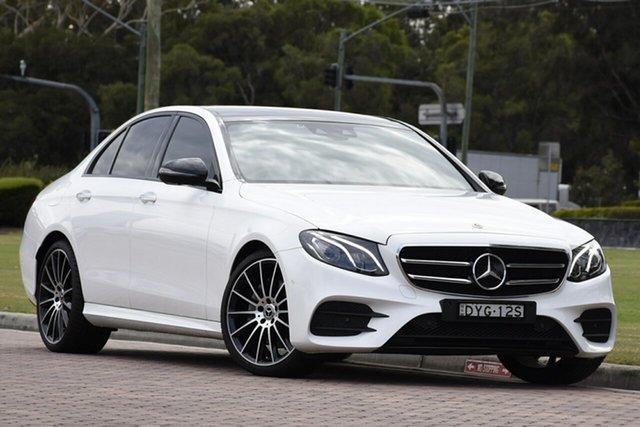 Used Mercedes-Benz E-Class E200 9G-Tronic PLUS, Narellan, 2018 Mercedes-Benz E-Class E200 9G-Tronic PLUS Sedan