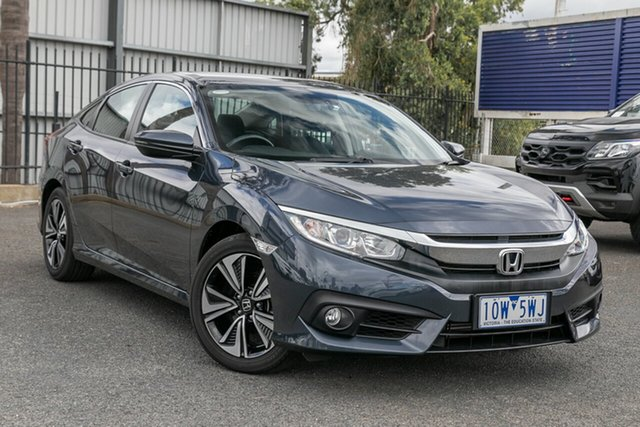 Used Honda Civic VTi-L, Oakleigh, 2018 Honda Civic VTi-L 10th Gen MY18 Sedan