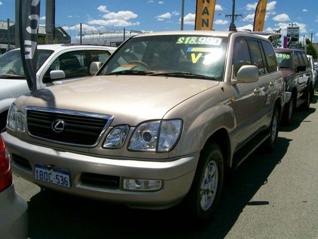 Used Lexus LX470 LX470, Wangara, 2002 Lexus LX470 LX470 Wagon