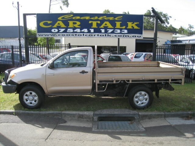Used Toyota Hilux SR (4x4), Nambour, 2005 Toyota Hilux SR (4x4) Cab Chassis
