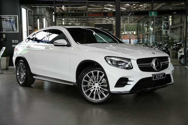 Used Mercedes-Benz GLC-Class GLC250 d Coupe 9G-Tronic 4MATIC, North Melbourne, 2016 Mercedes-Benz GLC-Class GLC250 d Coupe 9G-Tronic 4MATIC Wagon