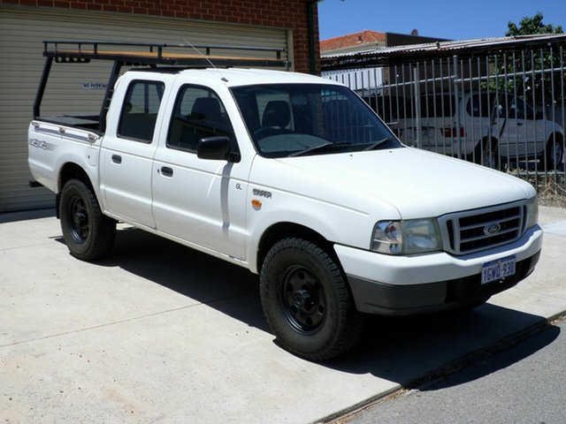 Used Ford Courier XL Crew Cab, Mount Lawley, 2003 Ford Courier XL Crew Cab Utility