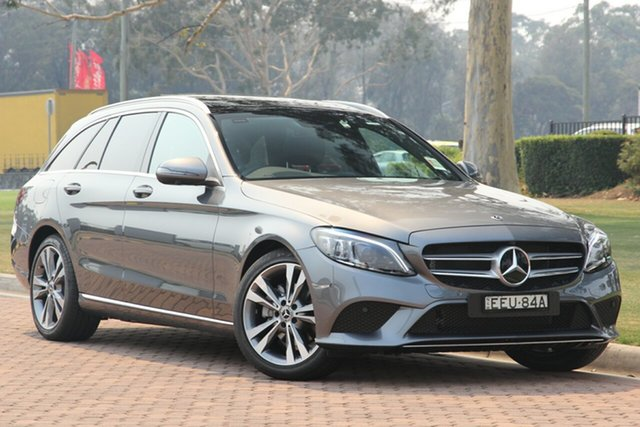Demonstrator, Demo, Near New Mercedes-Benz C-Class C200 Estate 9G-Tronic, Warwick Farm, 2019 Mercedes-Benz C-Class C200 Estate 9G-Tronic Wagon