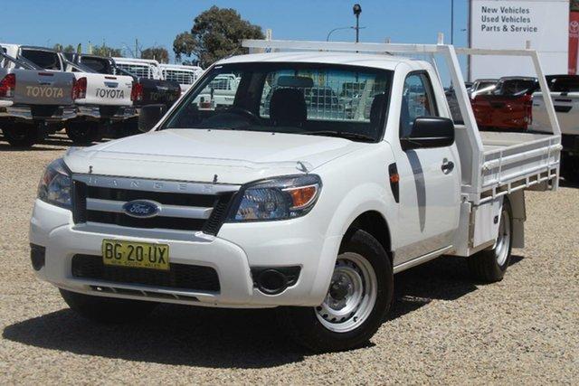 Used Ford Ranger XL (4x2), Bathurst, 2010 Ford Ranger XL (4x2) Cab Chassis