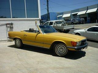 1980 Mercedes-Benz 280SL Convertible.