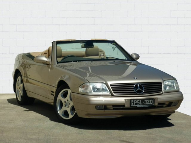Used Mercedes-Benz SL320, Moorooka, 2001 Mercedes-Benz SL320 Convertible