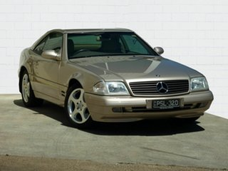 2001 Mercedes-Benz SL320 Convertible.