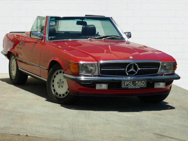 Used Mercedes-Benz 560 SL, Moorooka, 1986 Mercedes-Benz 560 SL Convertible