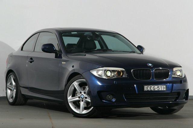 Used BMW 1 Series 120i Steptronic, Narellan, 2013 BMW 1 Series 120i Steptronic Coupe