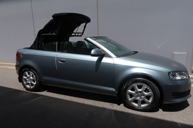 Used Audi A3 TFSI S Tronic Attraction, Reynella, 2009 Audi A3 TFSI S Tronic Attraction Convertible