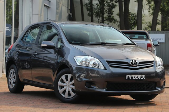 Used Toyota Corolla Ascent, Artarmon, 2011 Toyota Corolla Ascent Hatchback