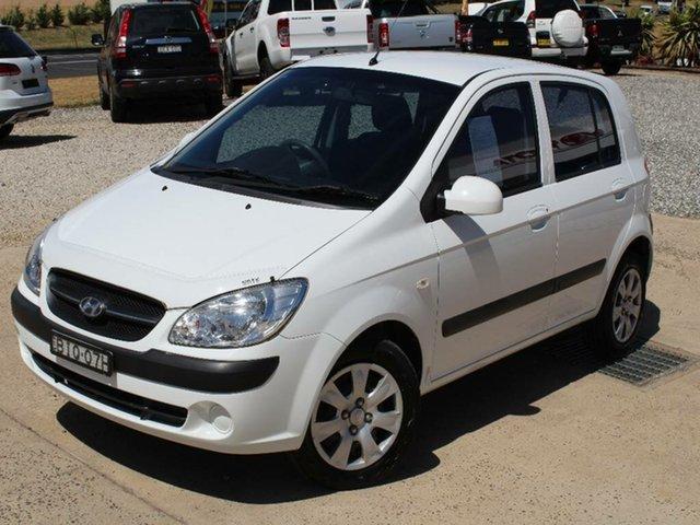 Used Hyundai Getz S, Bathurst, 2008 Hyundai Getz S Hatchback
