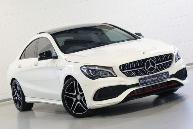 Used Mercedes-Benz CLA-Class CLA250 DCT 4MATIC Sport, Chatswood, 2017 Mercedes-Benz CLA-Class CLA250 DCT 4MATIC Sport Coupe
