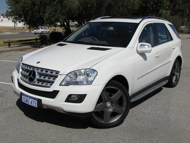 Used Mercedes-Benz M-Class ML500 Sports Luxury, Maddington, 2010 Mercedes-Benz M-Class ML500 Sports Luxury Wagon