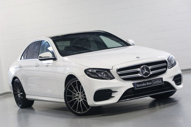 Used Mercedes-Benz E-Class E300 9G-Tronic PLUS, Narellan, 2017 Mercedes-Benz E-Class E300 9G-Tronic PLUS Sedan