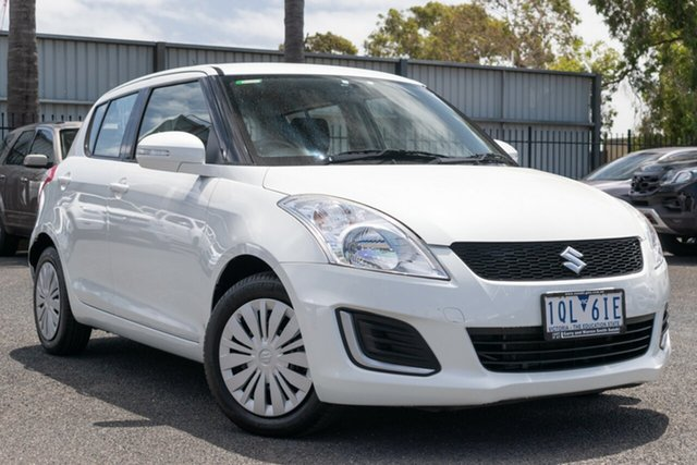 Used Suzuki Swift GL, Oakleigh, 2016 Suzuki Swift GL FZ MY15 Hatchback