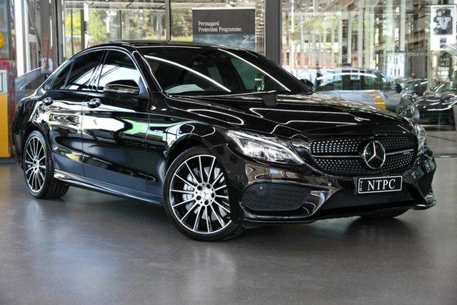 Used Mercedes-Benz C-Class C43 AMG 9G-Tronic 4MATIC, North Melbourne, 2018 Mercedes-Benz C-Class C43 AMG 9G-Tronic 4MATIC Sedan