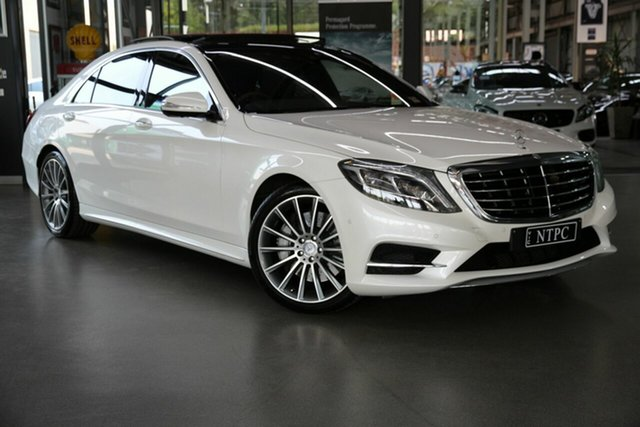 Used Mercedes-Benz S-Class S500 L 7G-Tronic +, North Melbourne, 2013 Mercedes-Benz S-Class S500 L 7G-Tronic + Sedan