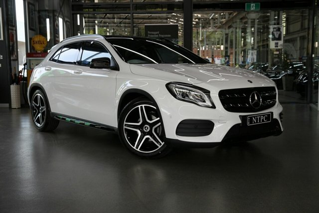 Used Mercedes-Benz GLA-Class GLA180 DCT, North Melbourne, 2019 Mercedes-Benz GLA-Class GLA180 DCT Wagon