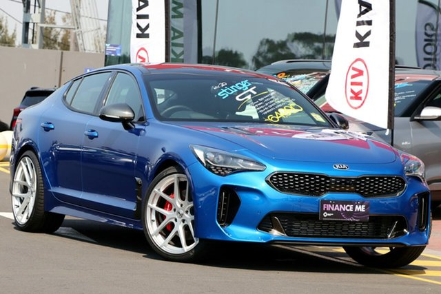 Demonstrator, Demo, Near New Kia Stinger GT-Line Fastback, Narellan, 2019 Kia Stinger GT-Line Fastback Sedan