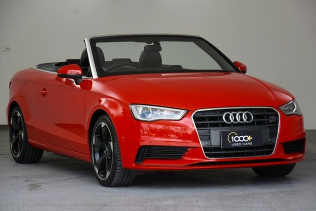 Used Audi A3 Attraction S Tronic, Narellan, 2014 Audi A3 Attraction S Tronic Cabriolet