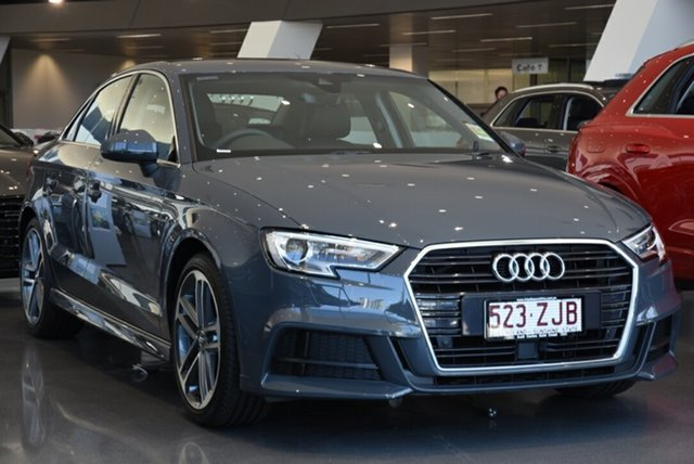 Demonstrator, Demo, Near New Audi A3 35 TFSI S Tronic S Line Plus, Warwick Farm, 2019 Audi A3 35 TFSI S Tronic S Line Plus Sedan