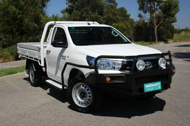 Used Toyota Hilux SR, Officer, 2016 Toyota Hilux SR Cab Chassis