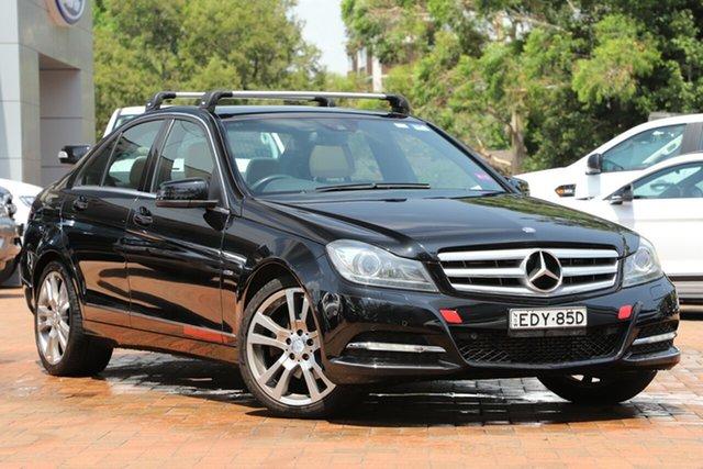 Used Mercedes-Benz C-Class C250 BlueEFFICIENCY 7G-Tronic + Avantgarde, Artarmon, 2011 Mercedes-Benz C-Class C250 BlueEFFICIENCY 7G-Tronic + Avantgarde Sedan